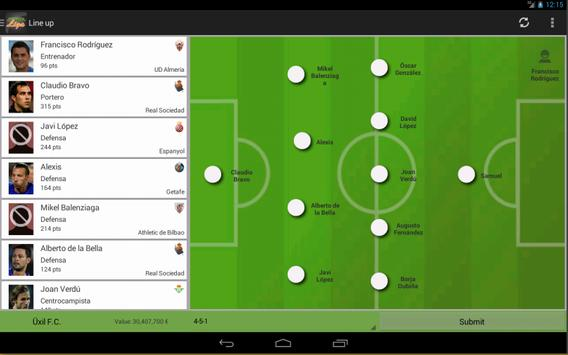 ManagerLiga apk screenshot