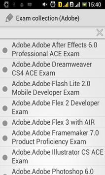 Exam collection (Adobe) poster