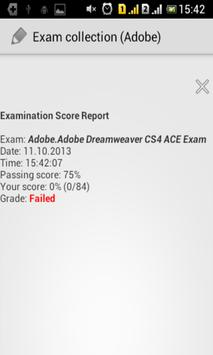 Exam collection (Adobe) screenshot 3