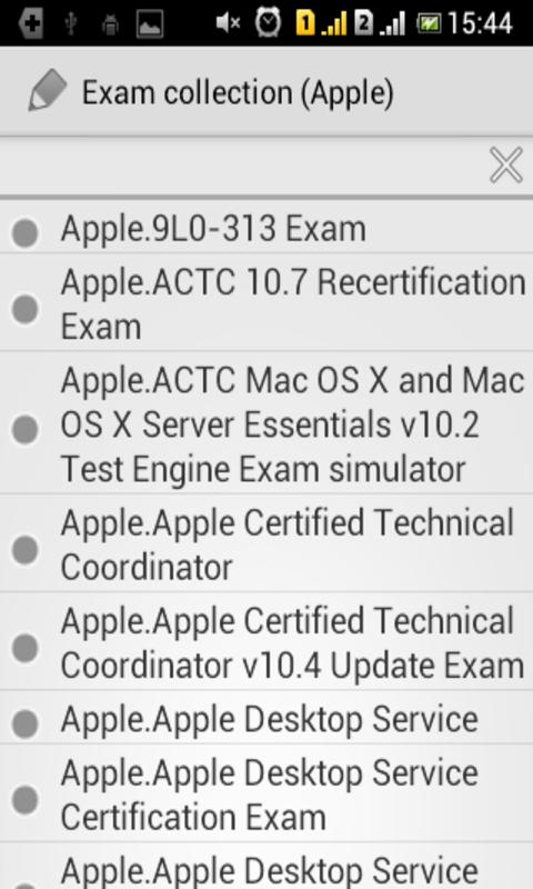 Exam Cpllection Apple For Android Apk Download