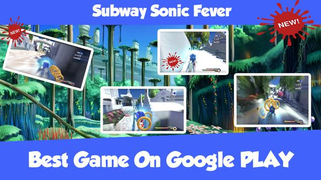 Subway Sonic Fever poster