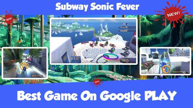 Subway Sonic Fever apk screenshot