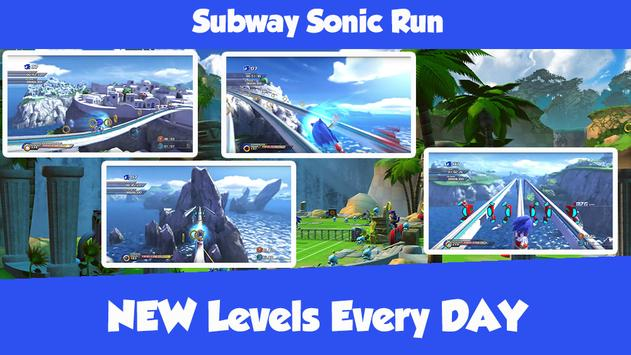Subway Sonic Run screenshot 2