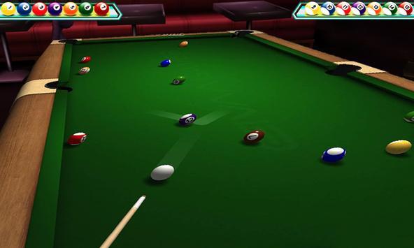 Snooker Renang 3D Klub screenshot 3