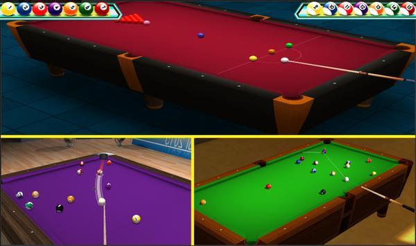 Snooker Renang 3D Klub screenshot 1