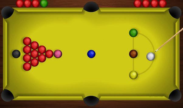 Snooker Renang 3D Klub screenshot 2
