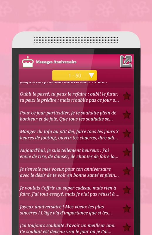 Message Anniversaire For Android Apk Download