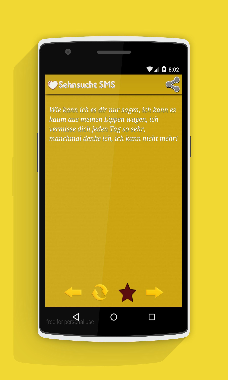 Sehnsucht vermissen sms Vermissen Sprüche: