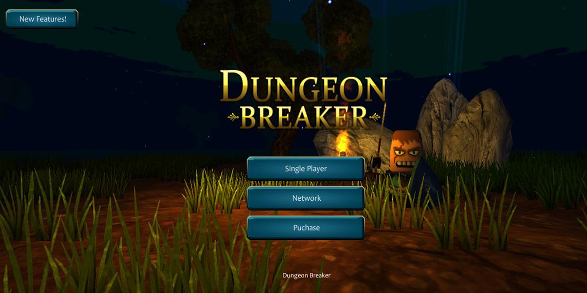 Dungeon Breaker Boss Hunter : Pixel Craft MMO RPG para