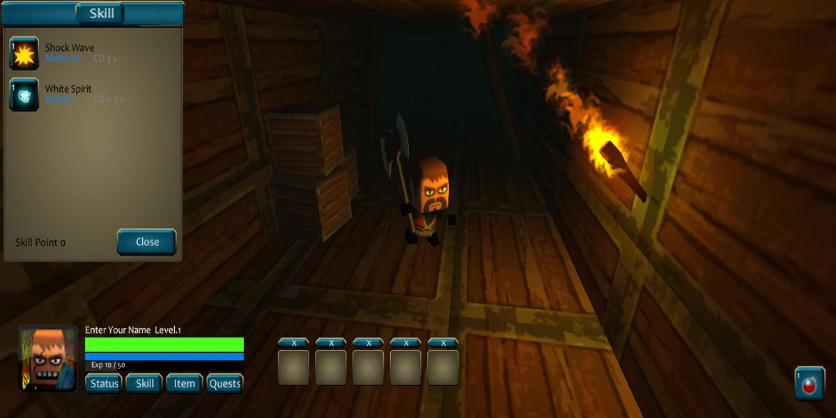 Pixel Zombies Survival Hunter: Blocky City MMO RPG for
