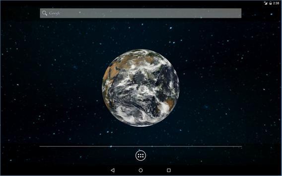 Earth 3D Live Wallpaper apk screenshot