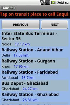 Transit50 screenshot 5