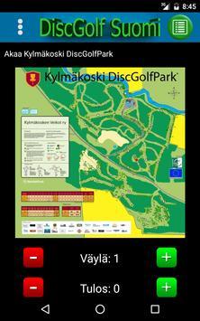DiscGolf Suomi - Frisbeegolf apk screenshot