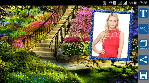 Garden Photo Frames for Android - APK Download