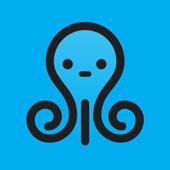 Cute Octopus Live Wallpaper icon