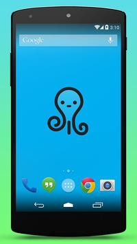 Cute Octopus Live Wallpaper poster