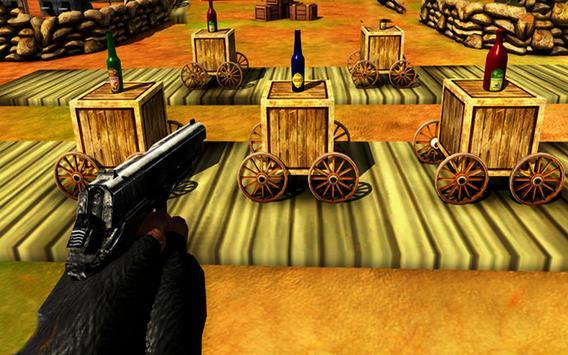 Expert  Bottle  Shooter  3D–Pistol Master Training screenshot 14