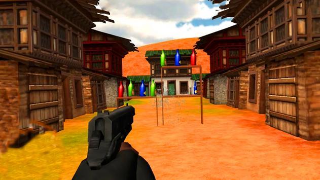 Expert  Bottle  Shooter  3D–Pistol Master Training screenshot 15