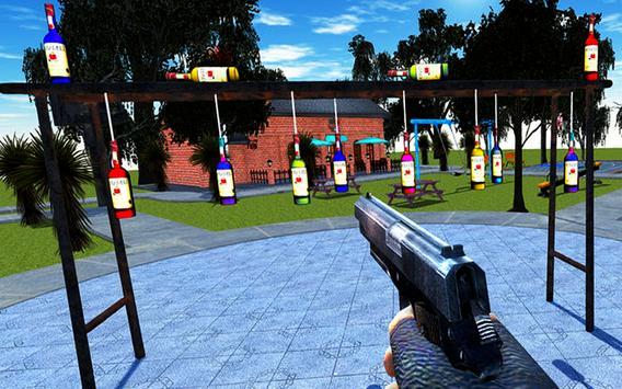 Expert  Bottle  Shooter  3D–Pistol Master Training screenshot 12