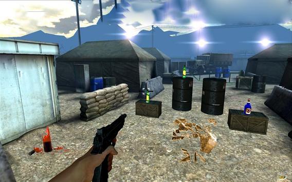 Expert  Bottle  Shooter  3D–Pistol Master Training screenshot 13