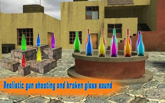 Expert  Bottle  Shooter  3D–Pistol Master Training screenshot 3