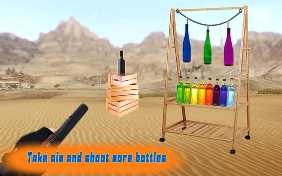 Expert  Bottle  Shooter  3D–Pistol Master Training screenshot 5
