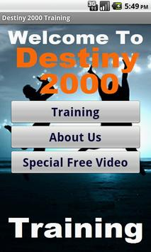 Struggling in Destiny 2000 Biz poster
