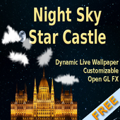 Night Sky Star Castle FREE icon