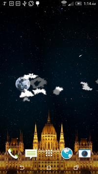 Night Sky Star Castle FREE poster