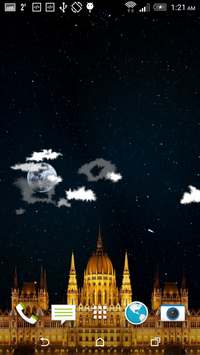 Night Sky Star Castle FREE screenshot 1