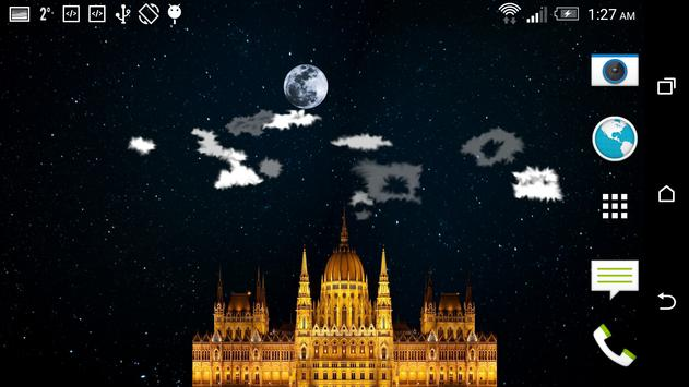 Night Sky Star Castle FREE apk screenshot