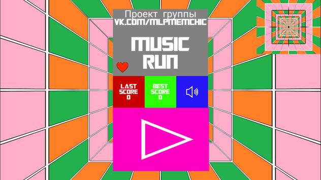 Music run screenshot 2