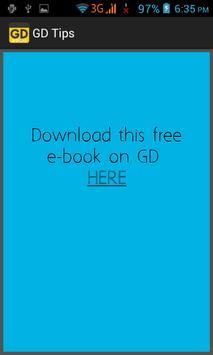 GD Tips screenshot 2