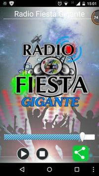 Radio Fiesta Gigante apk screenshot