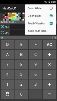 HexCalc D : hex dec calculator for Android - APK Download