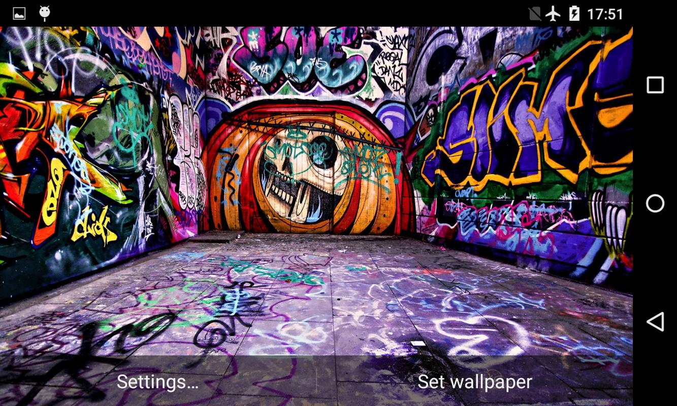 Graffiti 3d live wallpaper screenshot 3