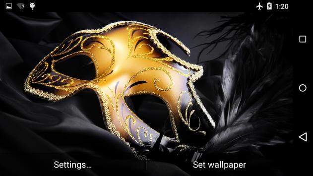 Mask Live Wallpaper 4K screenshot 1