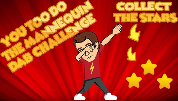 Mannequin Dab Challenge poster