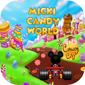 Micky Candy Kart World icon