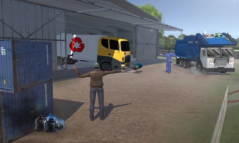 Road Garbage Dump Truck Driver for Android - APK Download