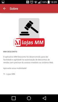 MM Desconto poster