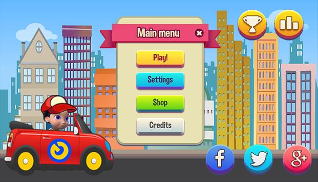 Rusty Kart Adventure apk screenshot