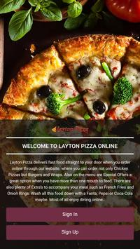 Layton Pizza poster