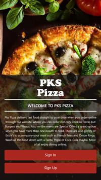 PKS Pizza poster