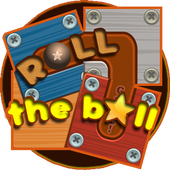 Slide Puzzle: Rolling the Ball (Unblock me) icon