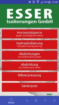 ESSER Isolierungen GmbH Plakat