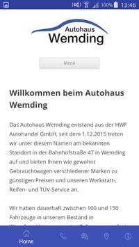 Autohaus Wemding GmbH Plakat