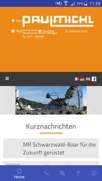 Paulmichl GmbH Plakat