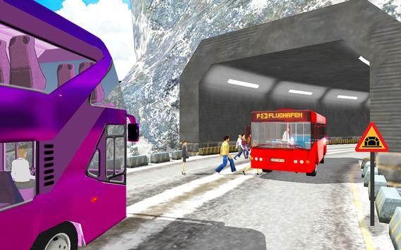 Snow Off-Road Hill Bus Driving screenshot 10