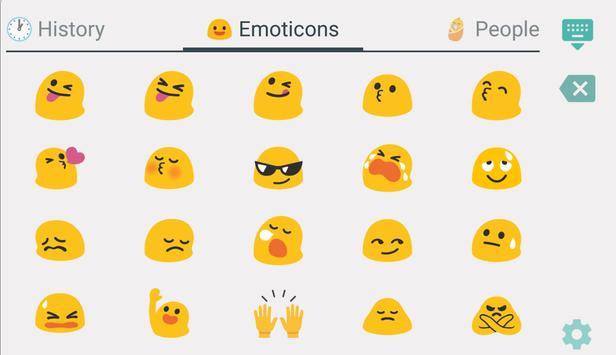 TruKey Czech Keyboard Emoji apk screenshot
